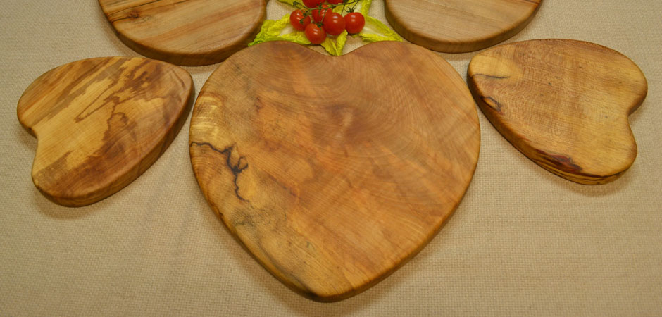 Heart Shaped Food Boards